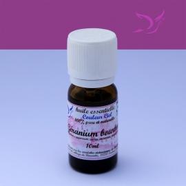 Huile essentielle bio de géranium bourbon