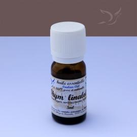 Huile essentielle bio de thym linalol  / 5 ml
