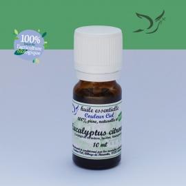 Huile essentielle bio d'eucalyptus citronné
